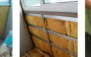 Как утеплить эркерный балкон?