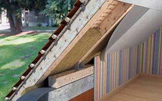 Каким материалом лучше утеплить крышу дома изнутри?