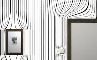 Современные покрытия для стен в квартире