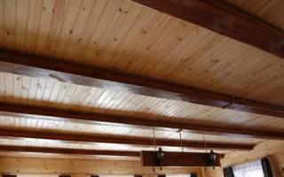 Гидроизоляция для потолка в деревянном перекрытии