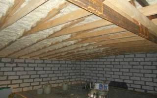 Как утеплить бетонную крышу снаружи?