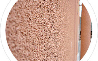 Жидкое пробковое покрытие для фасада