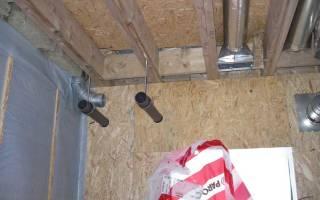 Простая вентиляция в каркасном доме