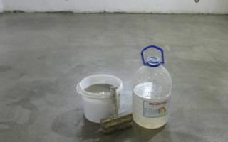 Жидкое стекло с цементом для гидроизоляции