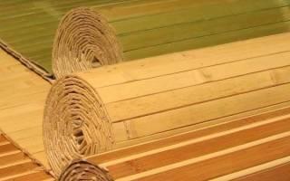 Бамбуковое покрытие для стен