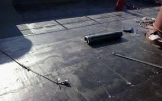 Покрытие крыши гаража технониколем