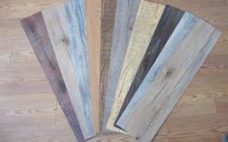 Напольное покрытие кварцвиниловая плитка