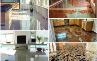 Как шлифовать бетонный пол?