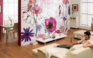 Как поклеить ткань на стены?