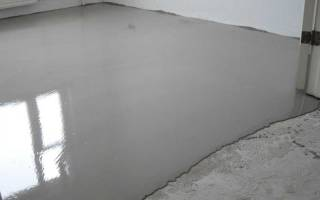 Как лить наливной пол?