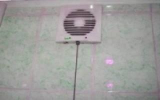 Как установить принудительную вентиляцию в ванной?