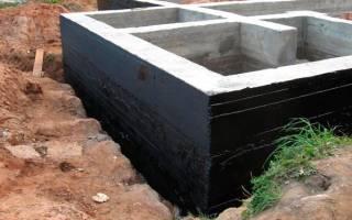 Правильная гидроизоляция фундамента и цоколя