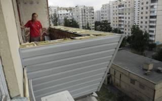 Как правильно утеплить балкон снаружи?