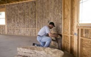 Как правильно утеплить каркасный дом изнутри?