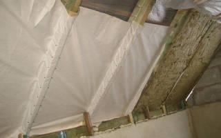 Как утеплить крышу в частном доме минватой?