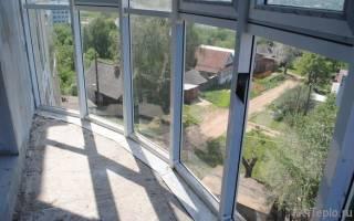 Как утеплить полностью стеклянный балкон?