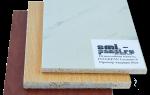 Стекломагниевый лист с акриловым покрытием
