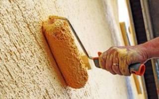 Как наносить фактурную штукатурку на стены?